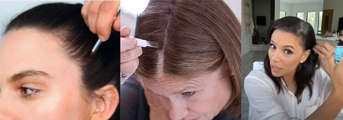 most populat hair root cover up alternatives at home