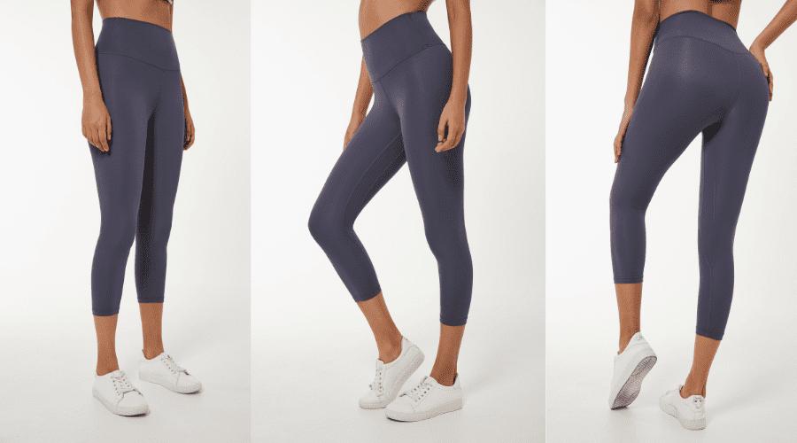 Capri length yoga leggings